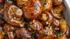 If you want to add moregluten free and veganrecipes to your repertoire, Balsamic Soy Roasted Garlic Mushrooms might be a recipe you should try. For$1.5 per serving, you get a side dish that serves 4.