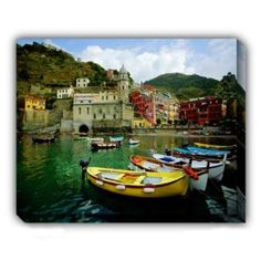 La Spezia Canvas Wall Art