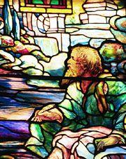 St John's vision on Patmos