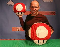 Lego Creation: Power-Up Mushrooms