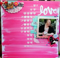 .#papercraft #scrapbook #layout. .........noteverypicturezperfect