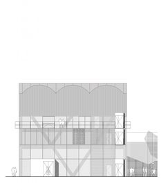 a Cultural and Sports Center  for Paris BROTHER Architects