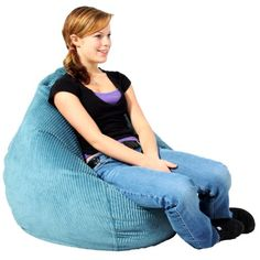 """Want a bean bag with the added support of a teardrop shape? The Ultra Lounge is the way to go. The 110"""" circumference also provides extra seating capacity so that you can enjoy reading, watching tv, playing games, or lounging. Relax in comfort with the Ultra Lounge."""