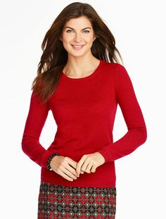 Talbots - Cashmere Crewneck Sweater | New Arrivals | Nov 2015