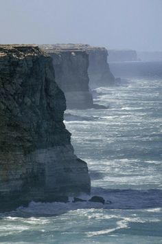 The Massive Bunda Cliffs, South Australia
