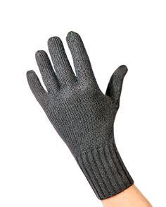 Kaschmir Handschuhe anthrazit