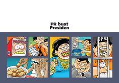 """Kartun Benny Rachmadi, Buku """"PR Buat Presiden"""""""