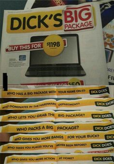 This is the classiest way to advertise your company. - Yeah? ...Hmm! - Gonna get back to you on this...