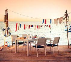 Elige el estilo marinero para tu exterior más casual.