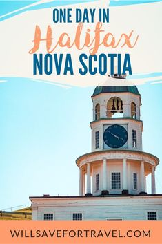One Day In Halifax Nova Scotia | #halifax #novascotia #travel Canada Cruise, Canada Travel, Cruise Port, Cruise Travel, Halifax Canada, Montreal Canada, Halifax Citadel, Indoor Things To Do, Alberta Travel