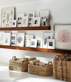 floating wall display