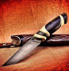 """2012 год. Нож """"Калипсо"""" сделан на заказ. Бивень мамонта, стаб. сувель, серебро, кожа, клинок от А.Белого. #охота #рыбалка #туризм #knifemaker #knives #knife #knifecollection #knifemaking #blade #нож #ножи #русскийножевойинстаграм #дамаск #клинок #ножик #ножемания #попка #ножны #ножиручнойработы #резьбапокости #резьба #бивеньмамонта #курган #бодибилдинг #серебро #коллекция #оберег #эксклюзив #длямужчин #пауэрлифтинг"""