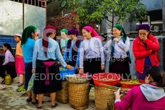 Woman in ethnic Hmong fair in Ha Giang, Vietnam royalty-free stock photo