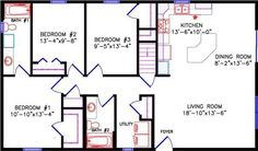 Image result for lake house floor plans 28 x 50