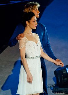 Meryl and Charlie from the show in Moscow right after the Olympics