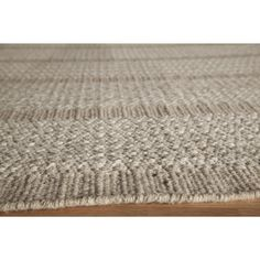 Fully Reversible And Woven From Natural Wool This Casual Flat Weave Rug Will Eal