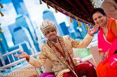 Sindhi & Punjabi Wedding ceremony in Hyatt, Jersey City by PhotosMadeEz with Elegant Affairs Inc. SV Bridal Concepts, Sanjana Vaswani, Moghul Catering, Sweetpea planners. Featured in Maharani Weddings.