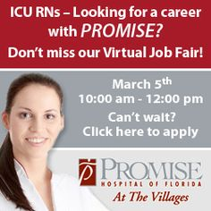 Join the virtual #nursing job fair event on Mar. 5 10AM to 12PM EST: http://ht.ly/ij3iz