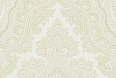 Chic Paisley Ivory Wallpaper
