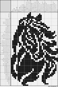 Cross Stitch Horse, Cross Stitch Animals, Counted Cross Stitch Patterns, Cross Stitch Charts, Knitting Paterns, Knitting Charts, Knitting Needle Storage, Cross Stitch Silhouette, Norwegian Knitting