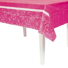 Pink Cowgirl Table Cover Fun Express http://www.amazon.com/dp/B00A8U7NMA/ref=cm_sw_r_pi_dp_ckRnvb07945WF