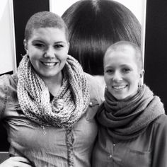 Being a sister means never being alone. When bad times arise. A sister will always be by your side. Here on of our sister shaved her head for another sister recently diagnosed with cancer. #ASA #GamaIota
