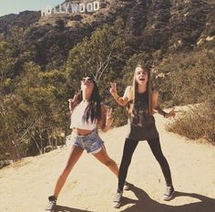Jennxpenn and Andrea russet I'm happy to say I have a friendship like them