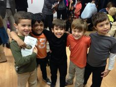 Dashin with classmates