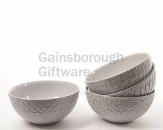 Grey Terracotta Bowl, 4a @ gainsboroughgiftware.com