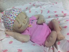 Advanced Baby Doll Category - 2014 Cloth Doll Challenge - Doll Net Makayla Doll by Lizzie Gibson from. Child Doll, Baby Dolls, Baby Lollipops, Soft Dolls, Children, Kids, Doll Clothes, Challenges, Nursery