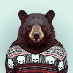 Yago Partal Zoo Animals Get Fashionable