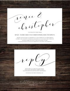 Calligraphy Diy, Printable Wedding Invitations, Papers Co, Paper Texture, Letterpress, Diy Wedding, Place Card Holders