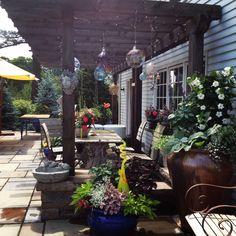 Relaxing outdoor spaces at Calgo Gardens. http://calgogardens.com/