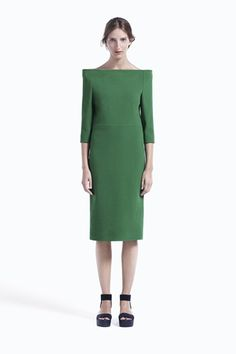 I <3 crisp lines in fashion... they are unnatural to the curves- a compliment pop aesthetic wise  COS Spring Summer 2012