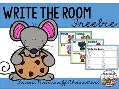Write the Room {Laura Numeroff} - Colorful Dreams Kindergarten Nursery Sequencing Activities, Language Activities, Classroom Activities, Book Activities, September Preschool, January, Laura Numeroff, Kindergarten Writing, Kindergarten Rocks