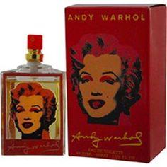 ANDY WARHOL MARILYN RED perfume by Andy Warhol WOMEN'S EDT SPRAY 1 OZ #ANDYWARHOLMARILYNRED