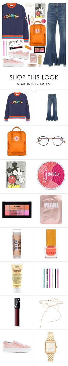 """2 Cool 4 School 2-9-2017"" by anamarija00 ❤ liked on Polyvore featuring Mira Mikati, Citizens of Humanity, Fjällräven, Garrett Leight, Disney, NYX, Lapcos, Skin & Tonic, Habit Cosmetics and Kiehl's"