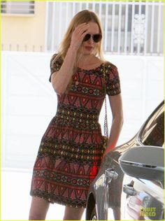 Kate Bosworth wore an ASOS skater dress