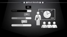 Black Metallic Powerpoint Templates - Black, Pattern, Textures - Free PPT Backgrounds and Templates Powerpoint Chart Templates, Powerpoint Background Templates, Background Ppt, Metal Background, Textured Background, Presentation Backgrounds, Information Visualization, Metal Texture, Slide Design
