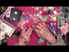 How To Make Scrap-tastic Embellishments! Using Your Scraps To Make Pretties! - YouTube