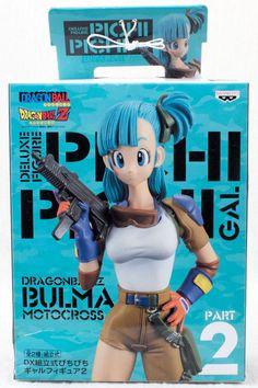 Dragon Ball Z Bulma Motocross Pichi Pichi GAL Figure JAPAN ANIME MANGA JUMP