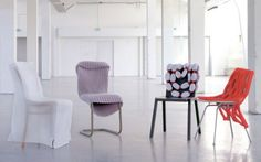 "Bernotat's ""Chair Wear"" Line Gives Old Furnishings a New Wardrobe"