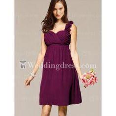 Discount Bridesmaid Dress_Berry