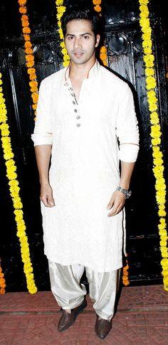 white pathani