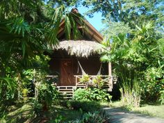Our bungalow in Costa Rica