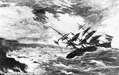 The Royal Charter, the sinking of which prompted FitzRoy to start the shipping forecast Marine weather forecasting - Wikipedia, the free encyclopedia Titanic, Shipwreck Image, Jura France, Beaufort Scale, Marine Weather, Shipping Forecast, Welsh Words, Historical Fiction Authors, Suffolk Coast