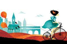 Affiche A bicyclette dans Flow