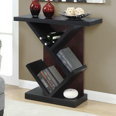 Convenience Concepts Newport Bistro Rectangle Console Table | from hayneedle.com