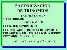 Factorizar polinomios - https://www.cultura10.com/factorizar-polinomios/