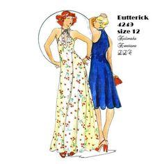 Butterick 4249 John Kloss size 12 by KalimahsKreationsLLC on Etsy